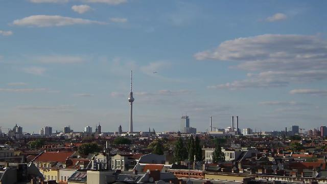 Berliner Skyline mit Blick auf den Fernsehturm